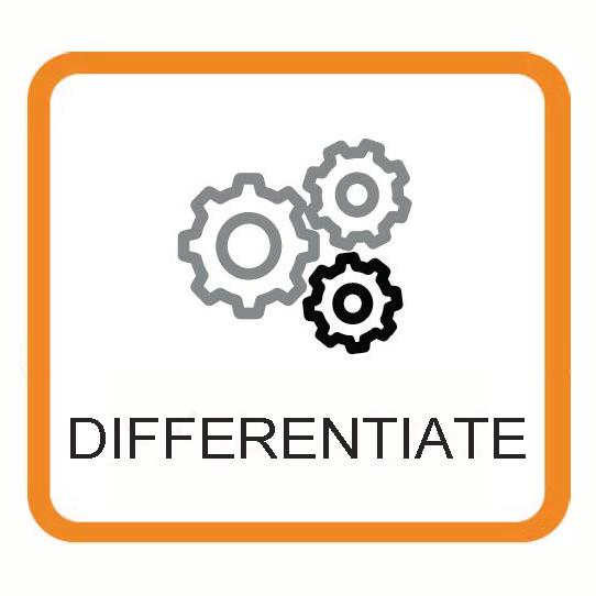 Differentiate icon
